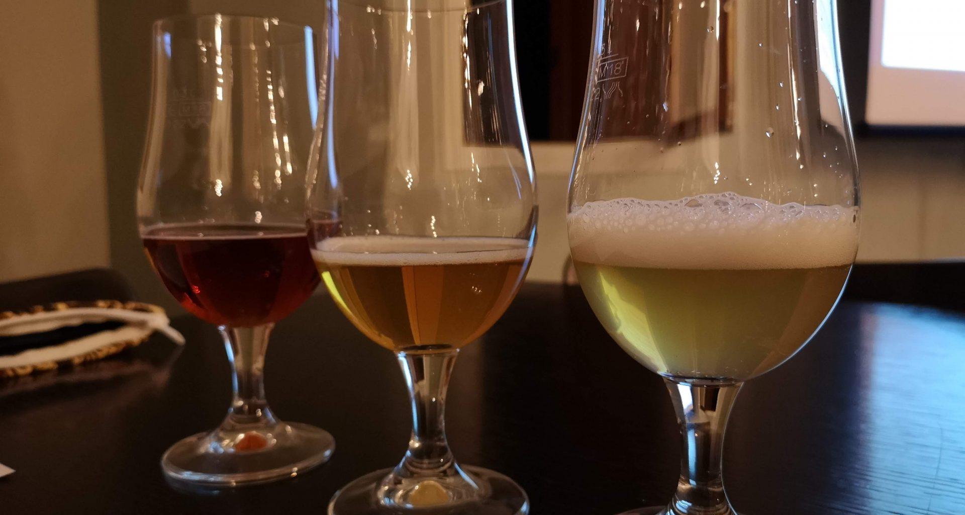 Tre Birre in degustazione