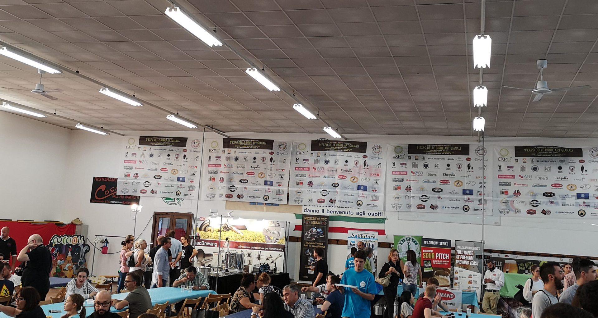 Una panoramica di Expo Brasseria