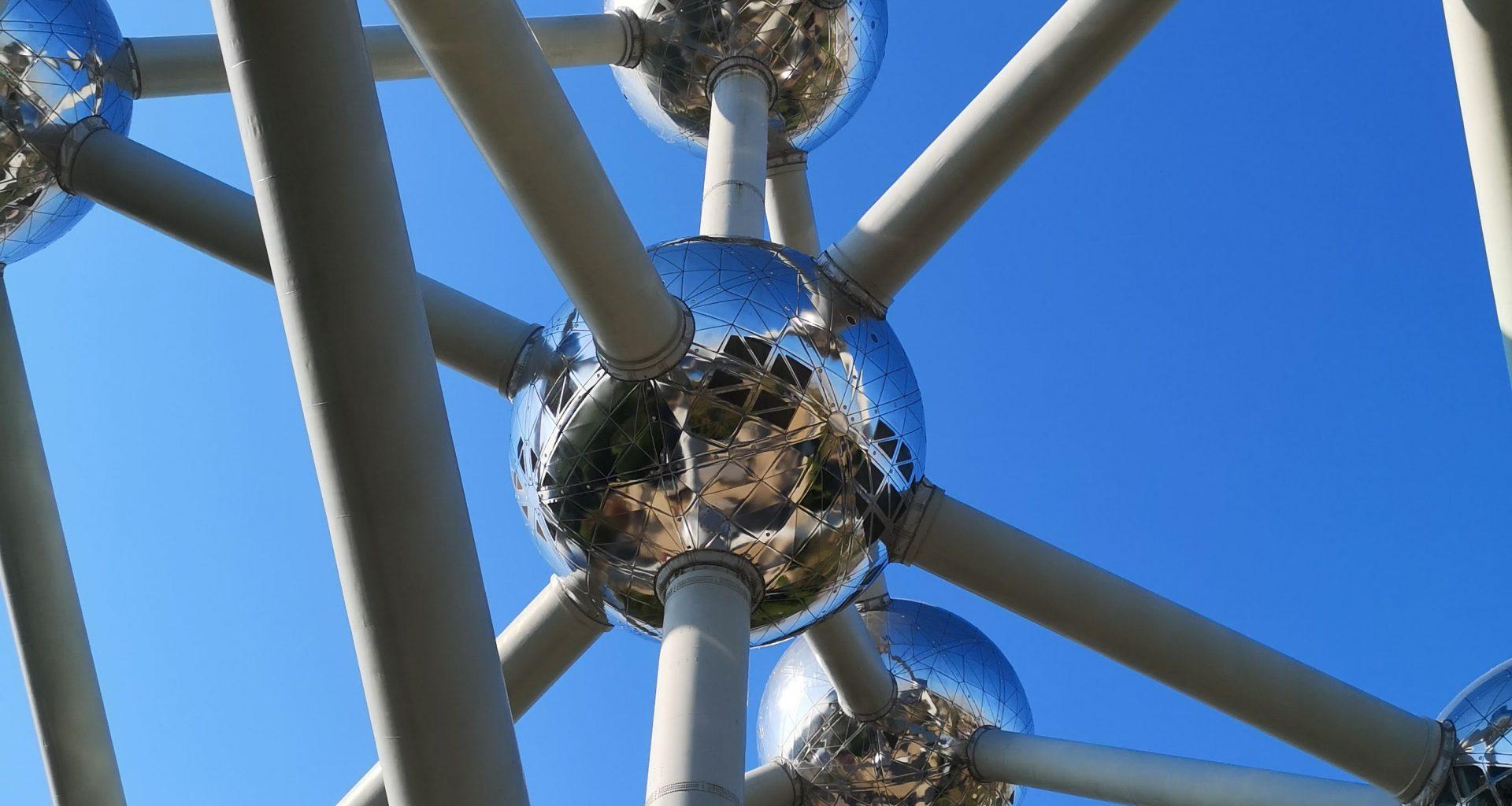 Dettaglio dell'Atomium