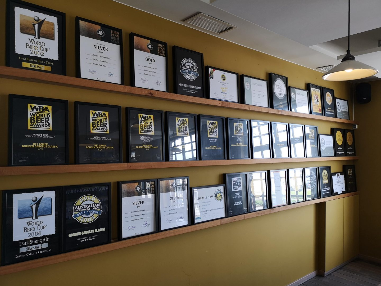 I numerosi premi di Het Anker