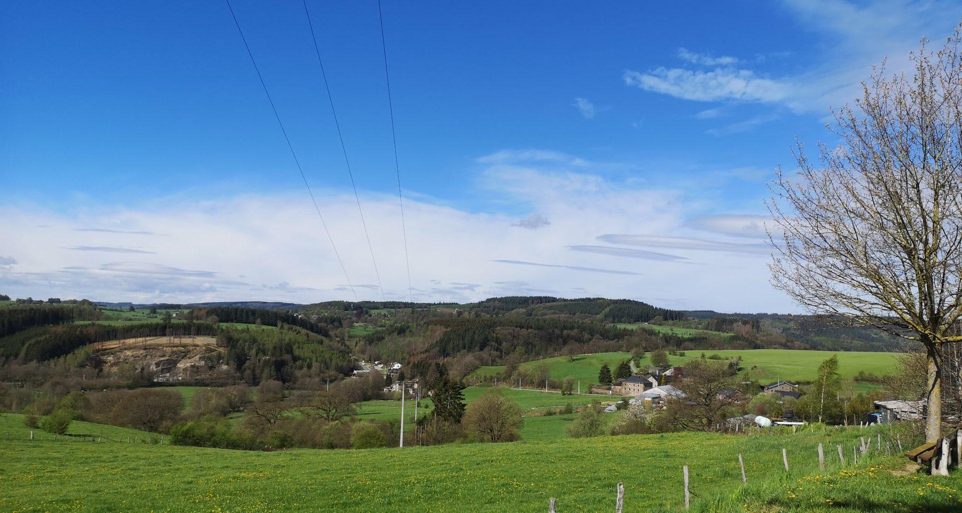 Paesaggio delle Ardenne